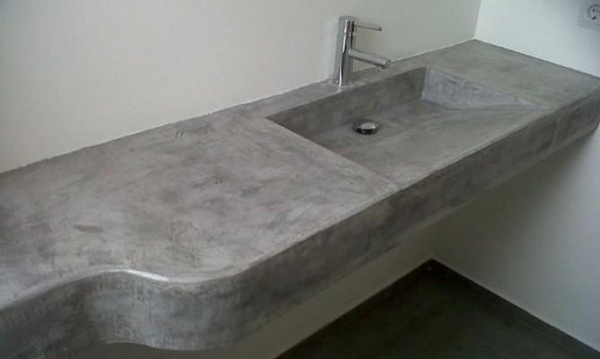 Microcemento para suelos y paredes impermeabilizaciones oriol s l - Microcemento alicante ...